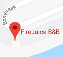 FireJuice Amsterdam map