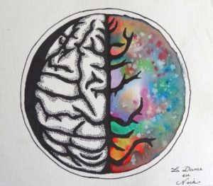 La Dame en Noir - A Beautiful Brain